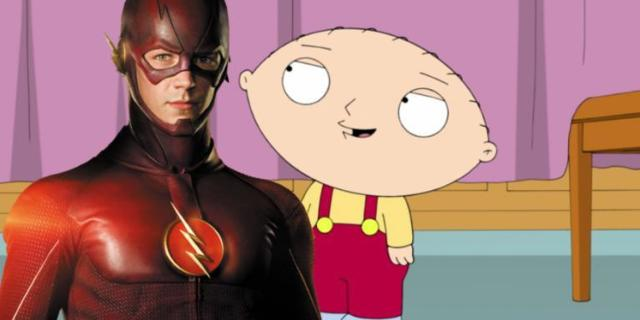 The Flash Grant Gustin Stewie Family Guy Comicbookcom