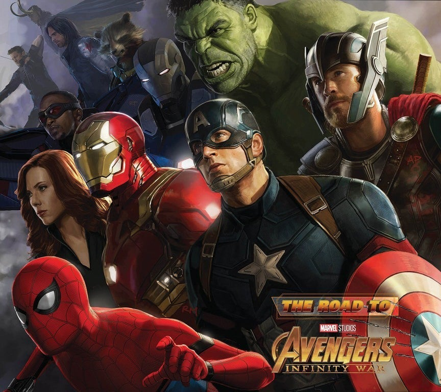 The-Road-To-Avengers-Infinity-War-Cover-V2