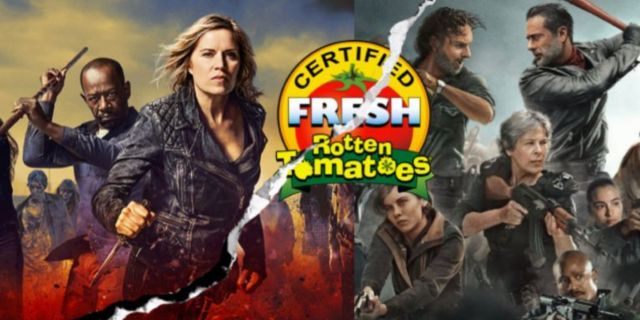 The Walking Dead Fear The Walking Dead rotten tomatoes ComicBookcom