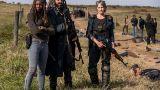 The Walking Dead Michonne Ezekiel Carol