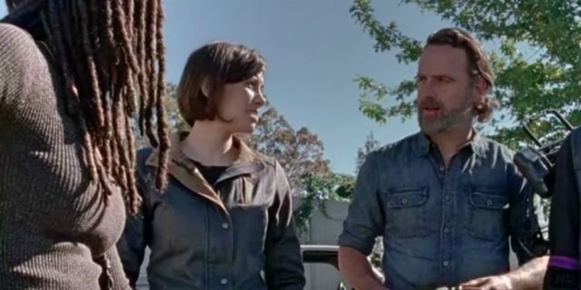 The Walking Dead Rick Maggie