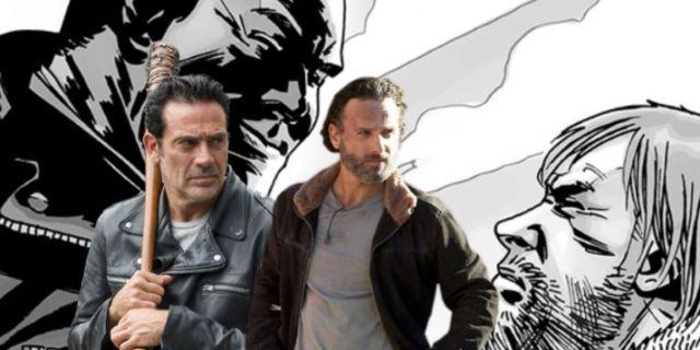 The Walking Dead Rick Negan ComicBookcom