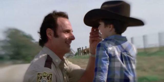 The Walking Dead season 8 finale Rick Carl