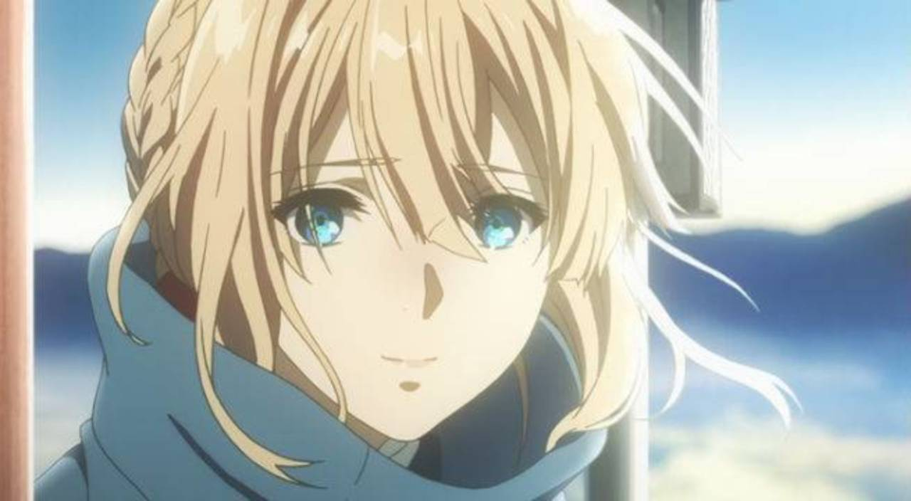 Violet Evergarden Image Collections Invitation Sample