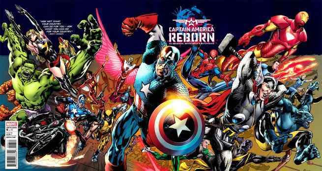 What To Read After Avengers Infinity War - Captain America Reborn