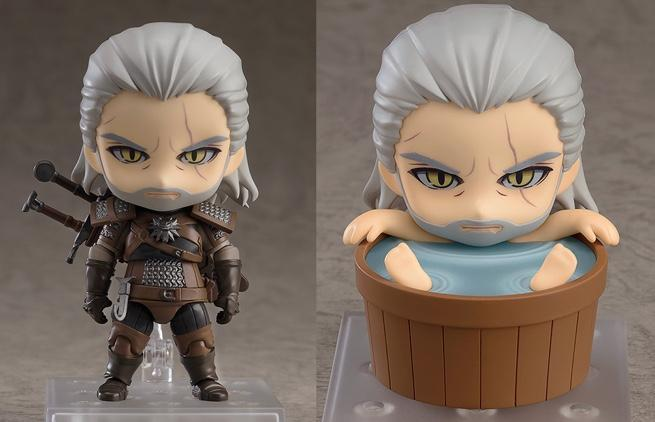 The Witcher 3 Wild Hunt Geralt Nendoroid Figure Is Now