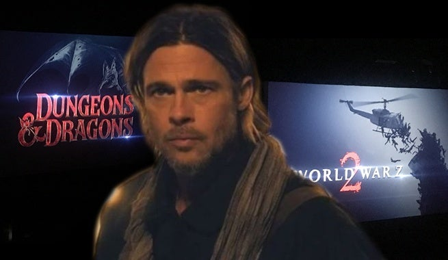 Paramount Confirms 'World War Z 2', 'Dungeons & Dragons
