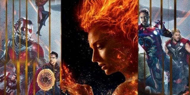 X-Men Dark Phoenix Last Fox Movie MCU Crossover