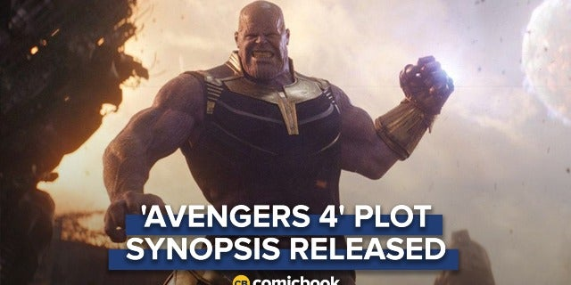 'Avengers 4' Plot Synopsis Released screen capture