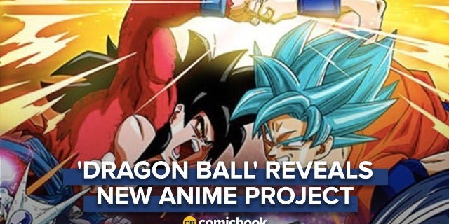 'Dragon Ball' Reveals New Anime Project screen capture
