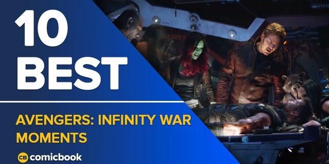 10 Best Infinity War Moments screen capture