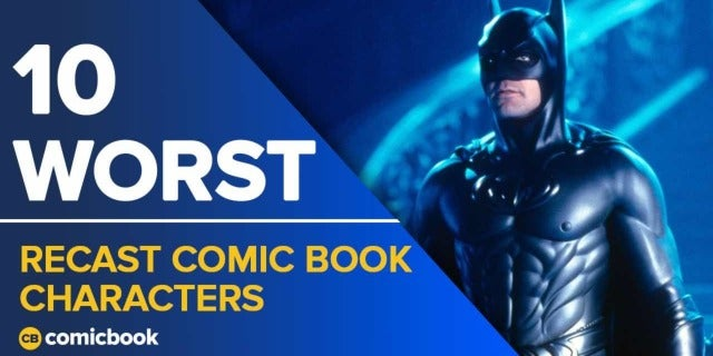 10 Worst Recast Comic Book Chacters