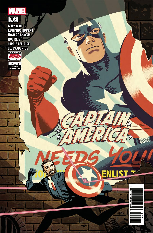 Captain America (1968) Vol. 1 Issue 702