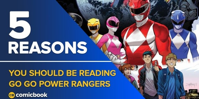 5 Reasons You Should Be Reading Go Go Power Rangers screen capture