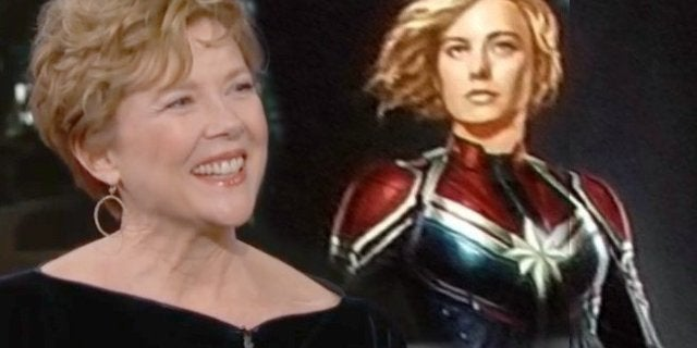 annette benning captain marvel