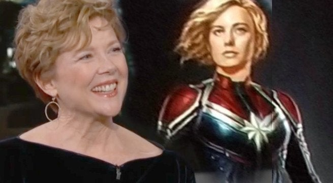 Annette Bening In Talks To Join 'Captain Marvel'