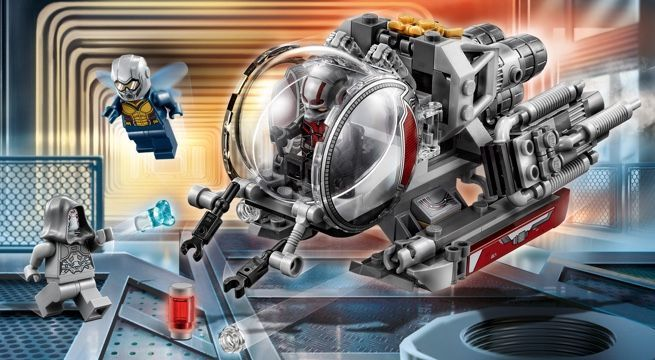 LEGO's 'Ant Man and the Wasp' Quantum Explorers Set Unveiled
