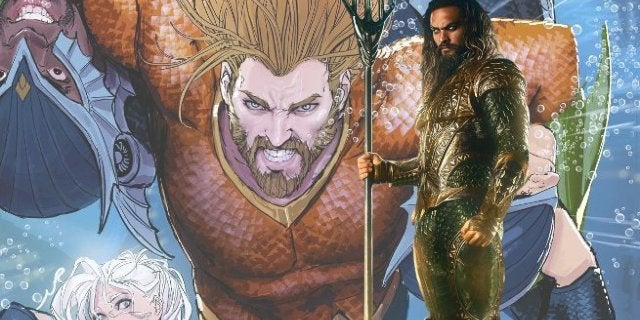 Aquaman Movie Classic Orange GreenCostume