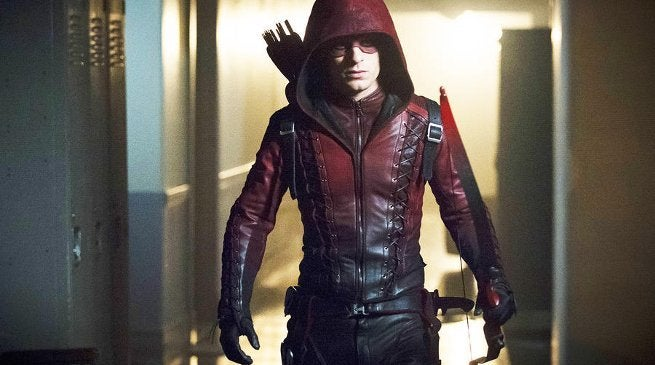 Arrow Season 7 Original Roy Harper Arsenal