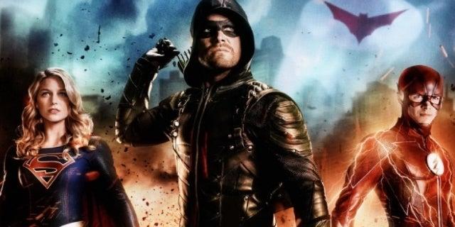 arrowverse crossover batwoman promo art