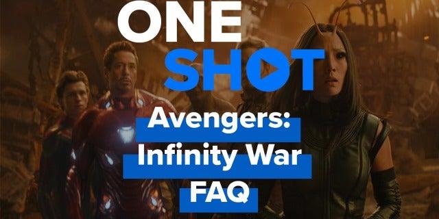 Avengers: Infinity War FAQ screen capture