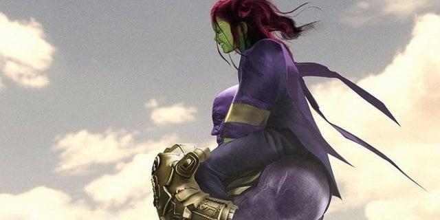 avengers infinity war gamora thanos bosslogic