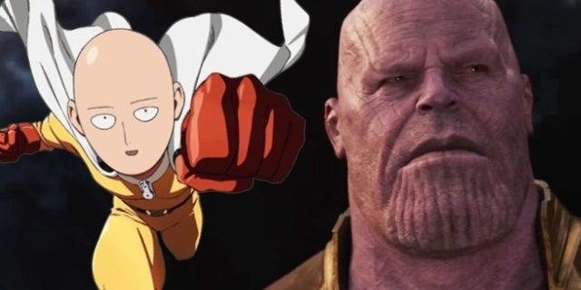 avengers infinity war one punch man