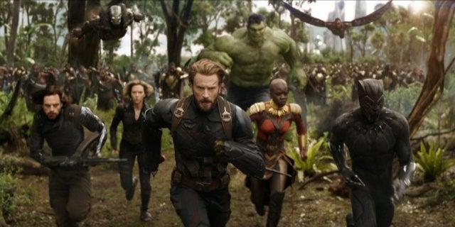 avengers infinity war running hulk