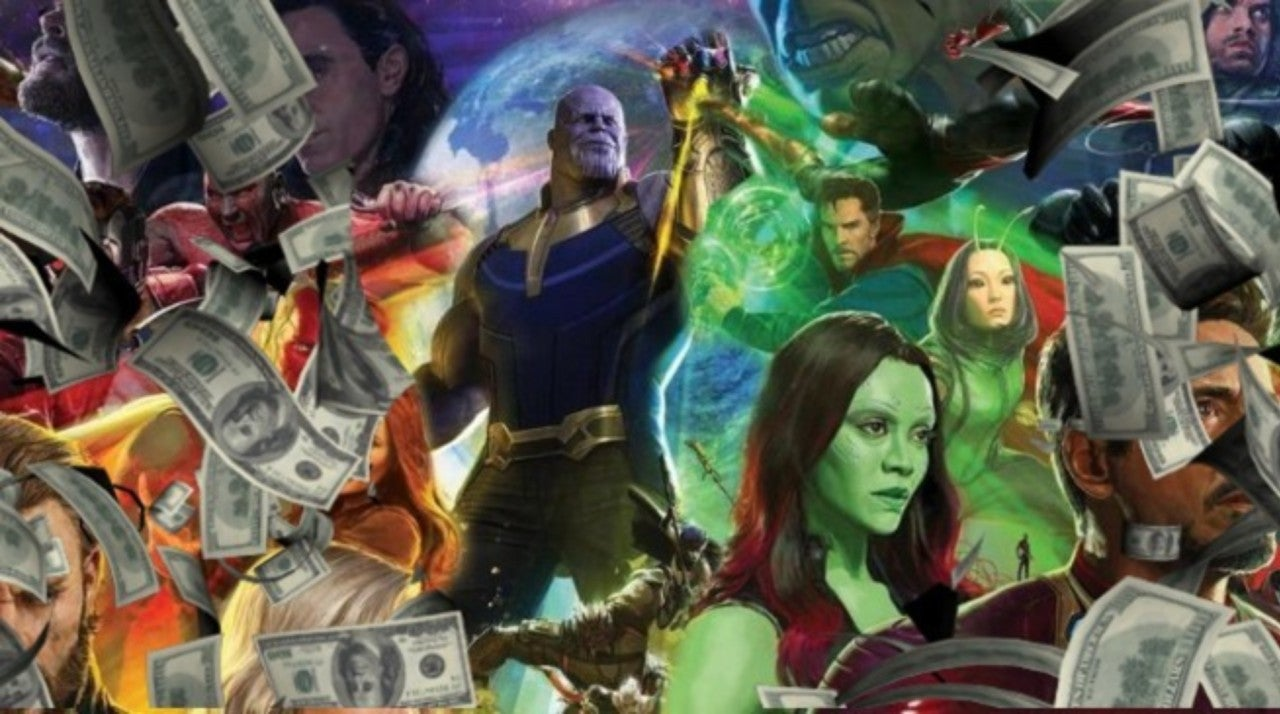 avengers: infinity war' projected for over $100 million at second