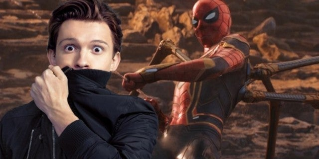 Avengers Infinity War Spider-Man Tom Holland ComicBookcom