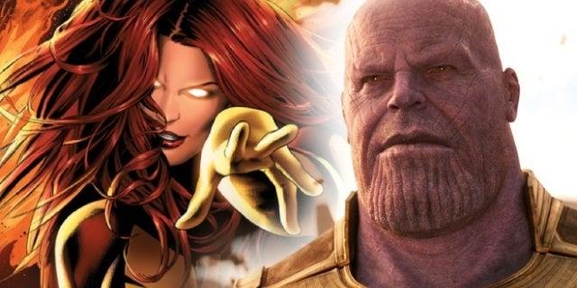 avengers infinity war thanos jean grey