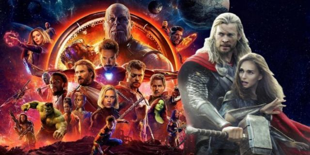 Avengers Infinity War Thor Jane comicbookcom