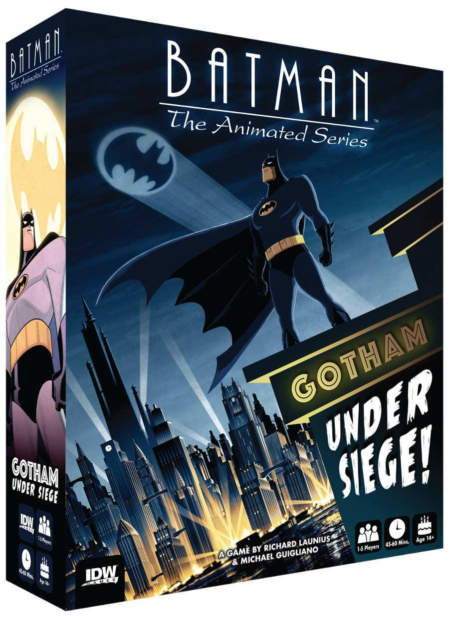Batman the Animated Series Gotham Under Siege box art