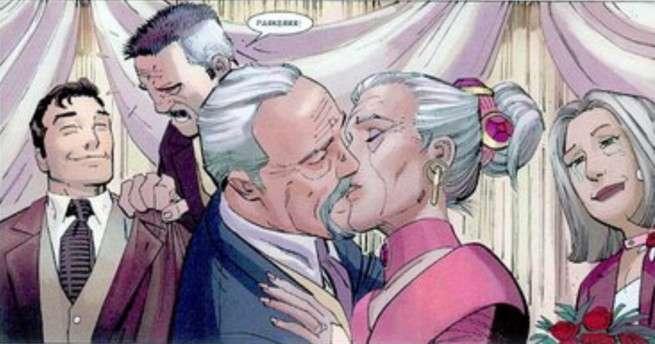 Best Superhero Weddings - Aunt May Jameson