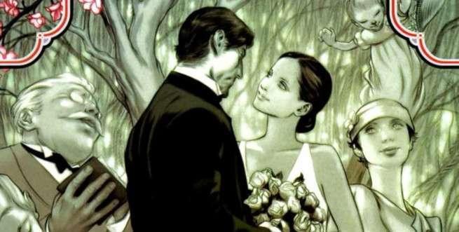 Best Superhero Weddings - Bigby Wolf Snow White