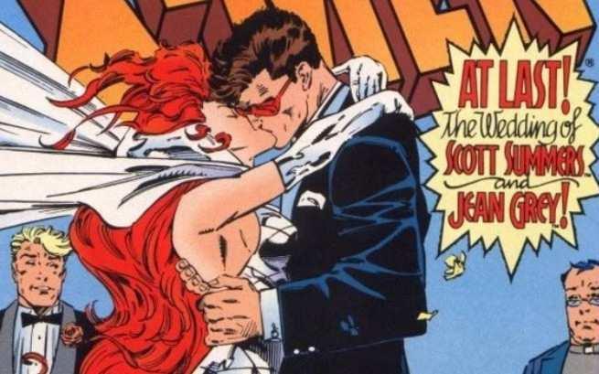 Best Superhero Weddings - Cyclops Jean Grey