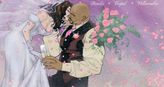 Best Superhero Weddings - Luke Cage Jessica Jones
