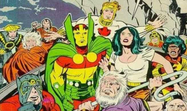 Best Superhero Weddings - Mister Miracle Big Barda