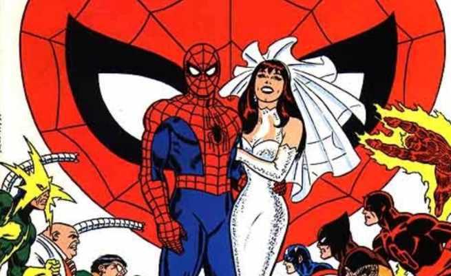 Best Superhero Weddings - Spider-Man Mary Jane