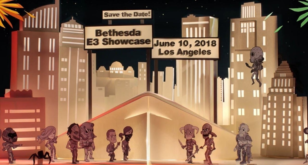 Bethesda keep teasing something for