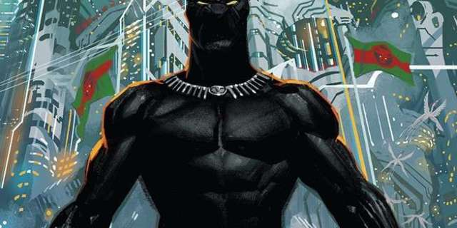 Black Panther #1 Review - Cover
