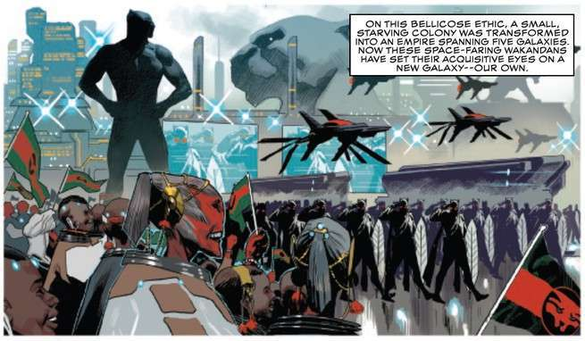 Black Panther #1 Review - Wakanda Empire