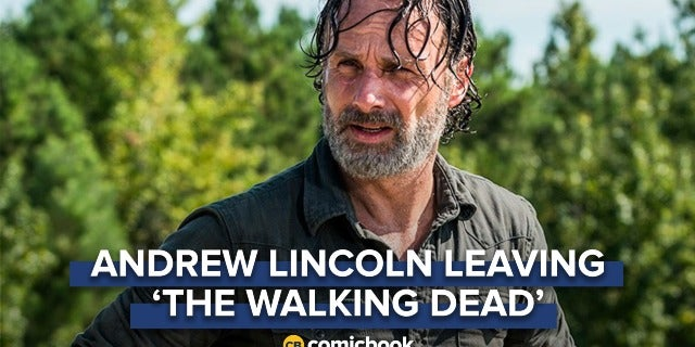 BREAKING: Andrew Lincoln Leaving 'The Walking Dead' screen capture