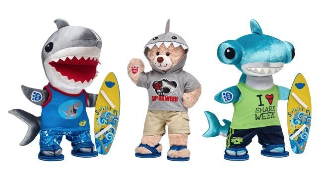 Stuffed Animals Great White Shark Plush Toy Cuddly Soft And Cute Wonderful Gifts For