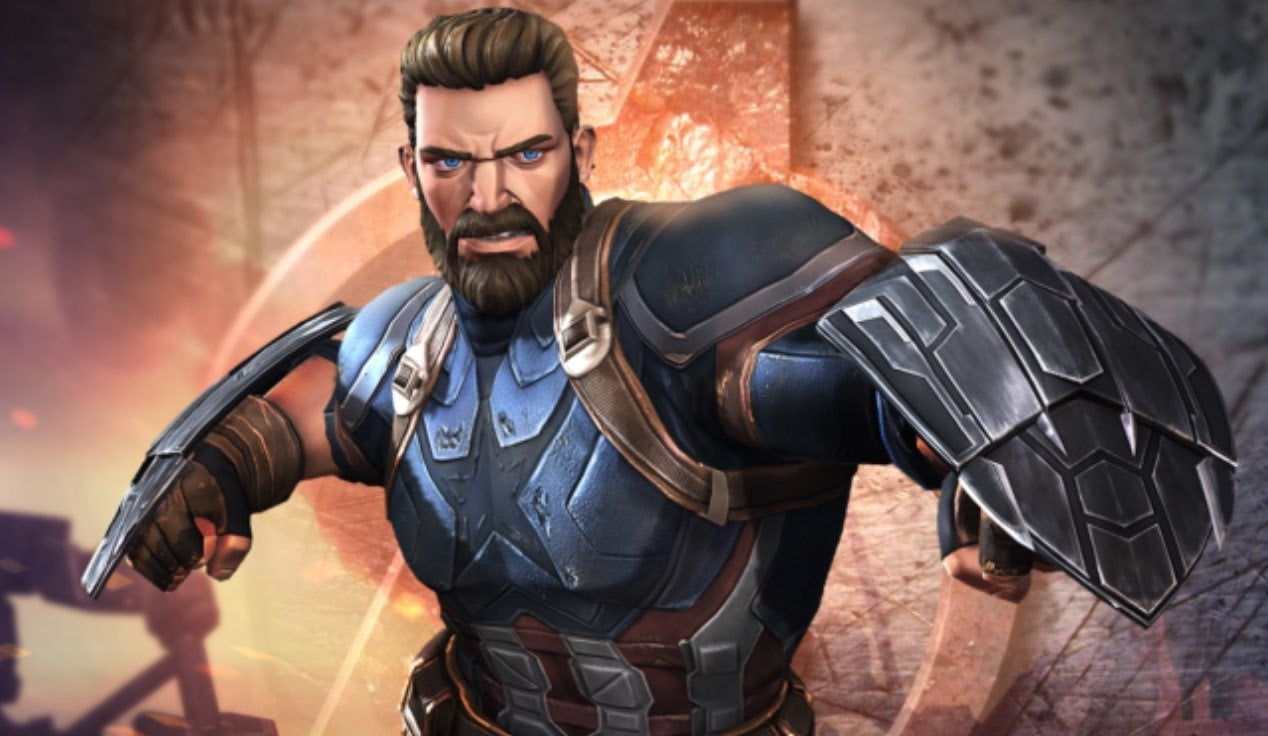 Infinity War' Captain America Joins 'Marvel Contest of Champions'