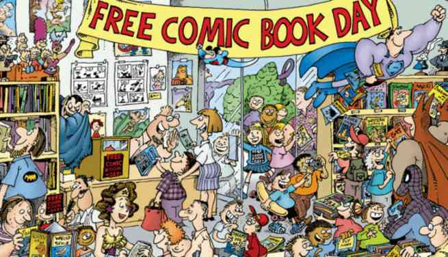 what is free comic book day