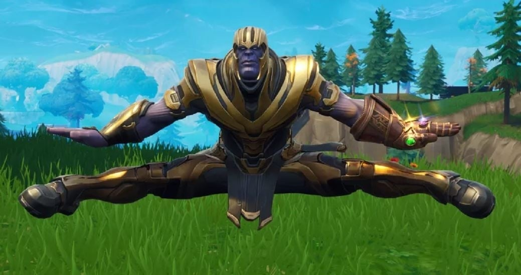 Dacning Thanos Epic Games Just Made Huge