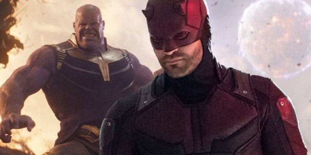 Daredevil Thanos Snap