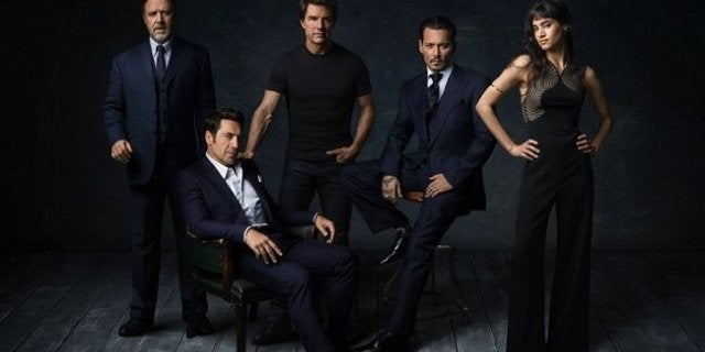 dark universe cast the mummy universal monsters