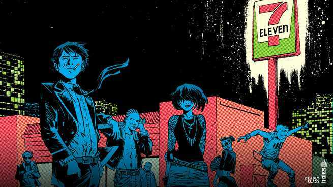 Deadly Class on TV - Expansion